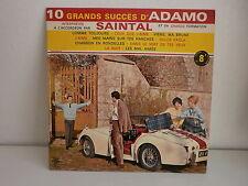 SAINTAL 10 grands succes d' ADAMO 5386 TRS 25 CMS Photo voiture
