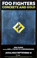 FOO FIGHTERS Concrete And Gold 2017 Ltd Ed RARE New Poster +FREE Rock Poster!