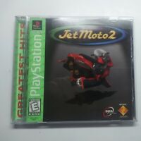 Jet Moto 2 (Sony PlayStation 1, 1997) Complete CIB Tested