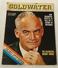 1964 GOLDWATER vol. 1, no. 1 ~ MOST CONTROVERSIAL UNDERDOG IN US HISTORY, Republ