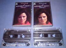 KATHRYN STOTT A PORTRAIT OF VOLUMES 1 & 2 classical music tape cassette T120