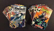 PUNISHER WAR JOURNAL #1 - 50 Comic Book Marvel DAREDEVIL TV Show JIM LEE 1988