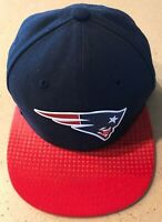 New England Patriots Football Fitted NFL New Era 59Fifty Hat Cap Size 6 1/2