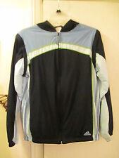 Adidas - Light-weight Jacket w/Hood - mesh lining & detachable Sleeves - Size Xl