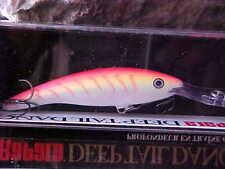 Rapala Deep Tail Dancer TDD09 PTU in (PINK TIGER UV) Walleye/Bass/Pike/Zander