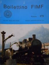 Bollettino treni FIMF n°171 - In treno sulla Roma Lubiana Firenze  [TR.33]
