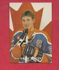 RARE 1990 # 19 TEAM CANADA WAYNE GRETZKY  LIMITED CARD