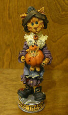 Boyds Folkstones #2866 Purrcilla.Give Thanks, Thanksgiving Cat, Purrstone Nib