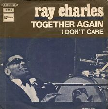 """45 TOURS 7"""" SINGLE--RAY CHARLES--TOGETHER AGAIN / I DON'T CARE"""