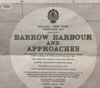 ADMIRALTY  SEA  CHART. No.3164. BARROW HARBOUR & APPROACHES. 1962-63.