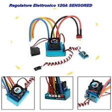 Regolatore Elettronico ESC da 120A BRUSHLESS per 1/8 1/10 Auto Barche RC Car