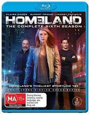 Homeland: Season 6 NEW B Region Blu Ray