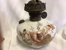 Antique Clark Brothers Hanging Oil Lamp Fount
