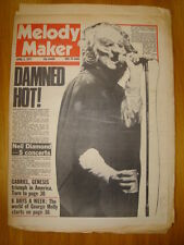 MELODY MAKER 1977 APR 2 THE DAMNED RAY DAVIES KINKS