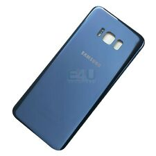 For Samsung Galaxy S8 Back Glass Rear Battery Cover - Coral Blue