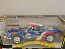 BBURAGO GOLD 1:18 ALPINE RENAULT A110 1600S (1971) BLAU ART.#18-12033 1:18  NEW
