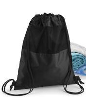 QUADRA Gymsac Mesh Tote Bag Gym KIT unisex uomo donna borsa di ventilazione (QD460)