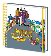 Beatles, The - Yellow Submarine - Notizbuch A5, Spiralbindung, Grösse 15x16 cm