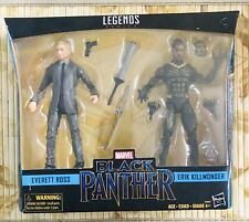 Marvel Legends Black Panther 6 Inch Figure Set - Everett Ross & Eric Killmonger
