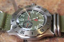 Vostok KOMANDIRSKIE K-35 350501 Military Russian Auto Wrist Watch UK