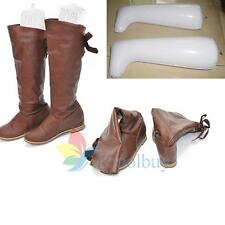 Inflatable Long Boot Shoe Stand Holder Stretcher Support Shaper Plastic New #A