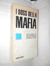 I BOSS DELLA MAFIA Girolamo Li Causi Riuniti 1971 libro storia contemporanea di