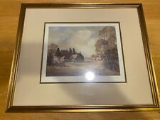 Framed Signed Numbered Watercolor Print – Charles J.F. Clift – Spring 105/850