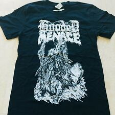 HOODED MENACE Reanimated By Death T-SHIRT SIZE: EXTRA LARGE