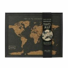 Create Your Own Personalised Travel Map from Splosh - Great Travel Map Gift