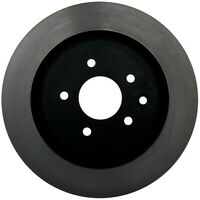 Disc Brake Rotor-Black Hat Rear ACDelco Pro Brakes 18A2332