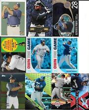 PRINCE FIELDER  (18) CARD ROOKIE AND INSERT LOT   DO DUPS   SEE SCANS
