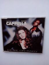 CAPPELLA MOVE ON BABY MAXI CD SINGLE 1993 EURODANCE