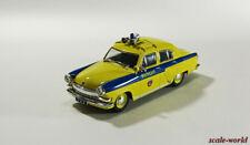 "Deagostini GAZ-21R Volga ""GAI USSR"", scale model cars 1:43"