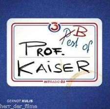 PROF. KAISER Vol. 1: Best of Prof. Kaiser (Gernot Kulis) Audio-CD NEU+OVP