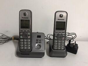 Panasonic KX-TG6721E Cordless Phone Set with Answering Machine