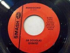 Sir Douglas Quintet Mendocino / I Wanna Be Your Mama Again 45 Vinyl Record