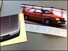 1986 Audi 24-page Car Sales Brochure Catalog - 5000 Turbo Quattro 4000 Coupe Gt