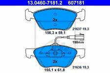 Kit de plaquettes de frein ALFA ROMEO GT (937) 4006633117975