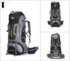 Camping Hiking Outdoor Backpack Nylon Superlight Sport Travel Bag Aluminum Alloy