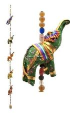 Elephants Multi - Colourful Wall Hangings Decoration Indian Handmade