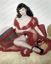 8x10 Print Sexy Model Pin Up Bettie Page 1956 Nudes #BP3