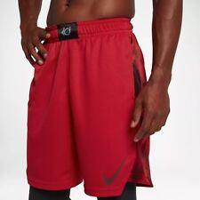"Nike KD Elite 9"" Basketball Shorts University Red 855837 Kevin Durant XL"
