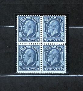 Canada 199 F og NH block, CV $92
