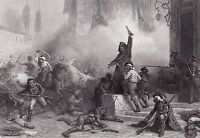 Dos de Mayo Insurrection Madrid Campagne d'Espagne Napoléon Bonaparte Empire