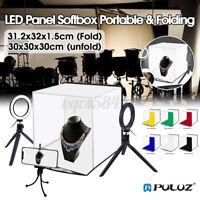 PULUZ Portable Photo Studio Photography Box Lightbox LED Light Room Kit  !!