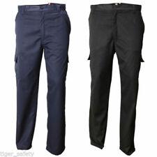 Pantaloni da uomo Cargo neri