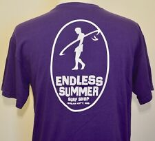 Endless Summer Surf Shop t-shirt purple large surfing beach Ocean City Maryland