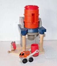 Thomas & Friends Wooden Railway Train Tank Engine - Cement Works W/ Lorry - Guc