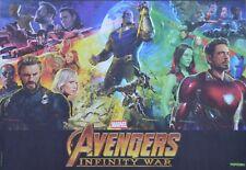 AVENGERS - A3 Poster (ca. 42 x 28 cm) - Film Plakat Infinity War Clippings NEU