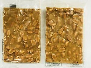 Cooks Famous Crunchy Peanut Brittle 160g X 6 Pack  Australian Made